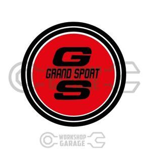 GS - Wheel Hub Badge Style XW GS XY GS - Grand Sport Stickerz