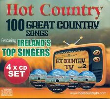HOT COUNTRY TV - 100 GREAT COUNTRY SONGS 4 CD FEATURING IRELAND'S TOP SINGERS