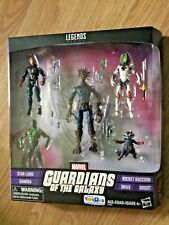 TRUS EXCLUSIVE GUARDIANS OF THE GALAXY 5 pack of figures new in box Groot, Rocke