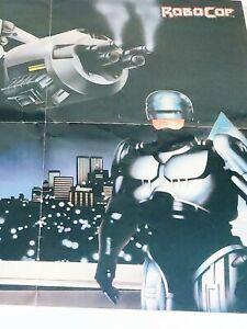 Nintendo Power Poster Robocop Faxanadu Map