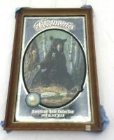 Vintage 1992 HAMMS BLACK BEAR Wildlife Mirror.  NOS.  Never Hung!