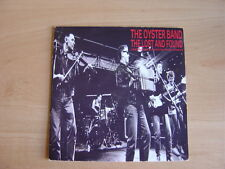 "The Oyster Band: The Lost And Found  7"": 1989 UK Release: Picture Sleeve."