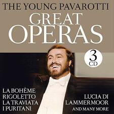 CD Young Pavarotti Greatest Opéras 3CDs