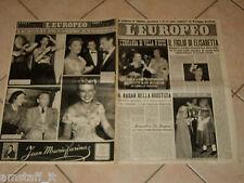 EUROPEO 1948/40=COMO VILLA D'ESTE PIA BELLENTANI=ANDREINA PAGNANI=MARTINE CAROL=