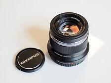 Olympus M.Zuiko Digital 45 mm F1.8 schwarz Objektiv Lens black 45mm 1:1.8