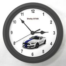 Ford Mustang Shelby GT350 Garage Wall Clock New Great Gift!