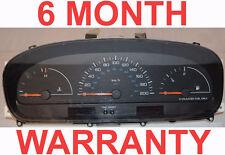 96 97 98 99 00 Dodge Caravan Instrument Cluster 4Spd NoTacho RED Plug