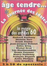"""DVD """"AGE TENDRE LA MAGIE DES ANNEE 60  """" 2006    NEUF SOUS BLISTER"""