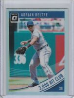 2018 DONRUSS OPTIC VARIATIONS HOLO ADRIAN BELTRE 3000 HIT CLUB #148 RANGERS