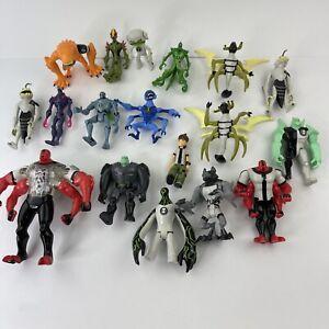 Ben 10 Action Figure Toy Lot Bandai Cartoon Network Figures