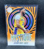 Anthony Davis Los Angeles Lakers 2019-20 Illusions Mystique Insert Orange #2