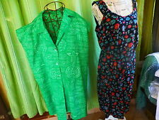 T50-52+++lot  2ROBES  DONT UNE CHRISTINE LAURE