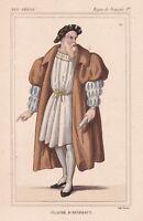 Claude d'Annebault Maréchal & Amiral de France Baron de Retz François Ier