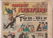 LES GRANDES AVENTURES. 1941 n°59. Calvo, Brantonne, Erik