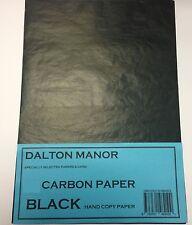 A3 SIZE 20 SHEET PACK A3 CARBON PAPER  HAND COPY  - BLACK