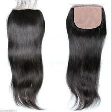 "10"" Brazilian Straight Lace Closure 100% Human Hair Free Part 4""x4"" Hot selling"