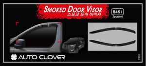 Autoclover Smoke Tinted Weather Shields 2pcs for 2019 Hyundai iLoad iMax.