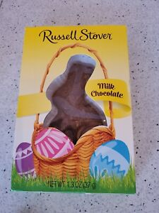 Russell Stover Solid Milk Chocolate Bunny Rabbit 1.3oz