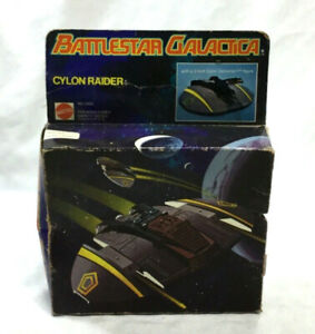 1978 Vintage Mattel Battlestar Galactica Cylon Raider Boxed Complete Figure RARE