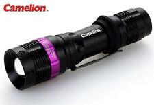 New Camelion T536 Cree XR-E Q5 120 Lumens Zoomable LED Flashlight ( 3A, AAA )
