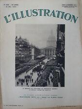 L' ILLUSTRATION 4655 . 21 mai 1932 . Les funérailles nationales de Paul Doumer .