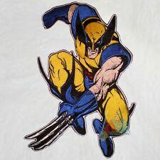 "Marvel Wolverine Embroidered Big Patch for Back Comics X-men Logan Magneto 11"""