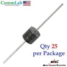 10A10 10amp (10A) 1000v (1KV) Axial Rectifier Diode solar panel USA SELLER 25pcs