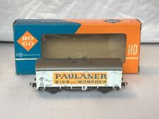 ROCO HO 4312 C  PAULANER BIER AUS MUNCHEN COVERED GOODS WAGON   ORIGINAL BOX