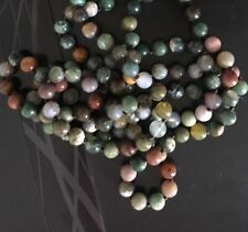 Fashion Long Knot Beads Halsband India Agate long Necklace Handmade