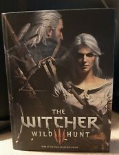 Guida Strategica The Witcher 3 Wild Hunt Goty Collector's Edition Eng Prima Rara