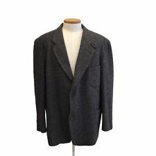 LL BEAN 3M Thinsulate Herringbone Wool Tweed Quilt Blazer Sport Coat XXL Tall