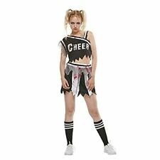 New listing Zombie Cheerleader Costume Women Halloween Bloody Dress Medium