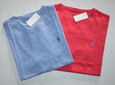 NWT Men's Polo Ralph Lauren Lot of 2 Short-Sleeve T-shirt, Red, Blue, XXL, 2XL
