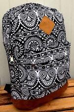AZTEC STYLE BACKPACK geometric back pack rucksack bag handbag holdall bags print