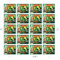 Latin Jazz 4349 42 cent Mint NH Stamp Sheet 2008 Free Shipping