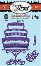 Cake Candle & Flower Dies Craft Cutting Dies Hot Off The Press Die HOTP 5322 New