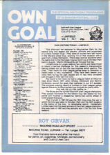 1982/83 Glenavon v Linfield - Irish League - 27th Dec - Vol 1 No 7