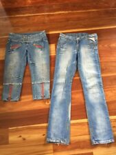 Replay Jeans And 3/4 Jeans Size Waist 27