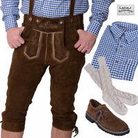 TRACHTENKRACHER! UVP 189,60€! Lederhose, Trachtenhemd, Haferlschuhe und Socken!