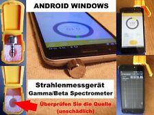 Strahlenmessgerät Geigerzähler Dosimeter Gamma Beta Spektrometer Android/Windows