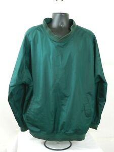 Vintage New Balance Mens  Windbreaker Size XL Green Pullover