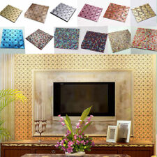 11.8inch Mosaic Self-adhesive Backsplash Home Kitchen Board Wall Tile Sticker