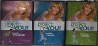 3 Kathy Smith Project You workout DVD lot Yoga Flex Upper body Abs Long Lean