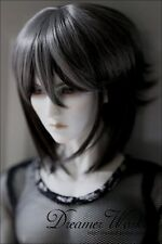 Bjd Doll Wig 1/3 8-9 Dal Pullip AOD DZ AE SD DOD LUTS Dollfie GREY Toy Hair