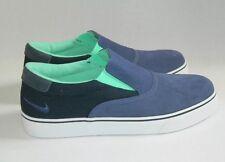 Nike SB Vrona Bleu Patinage Chaussures Taille UK 5 EUR 38-RRP £ 52