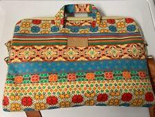 Kinmac laptop case with strap Aztec design 17x12