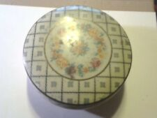 """Vintage Daher Decorated England 5"""" Tin Container"""