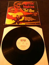 LIGHTNIN' HOPKINS - LIVE AT THE BIRD LOUNGE LP / GERMANY ASTAN STEREO 20053