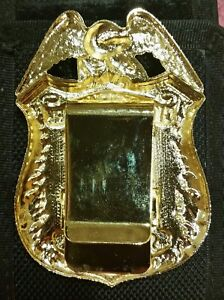 Large Size Sergeant Money Clip (from NYC Police Magazine Spring 3100 Gift Shop)