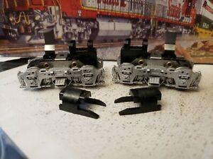 Athearn HO Front & Rear Silver Side Frame Power Trucks F7/GP7
